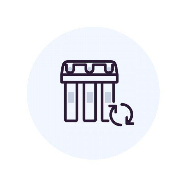 Санитарная обработка системы и бака